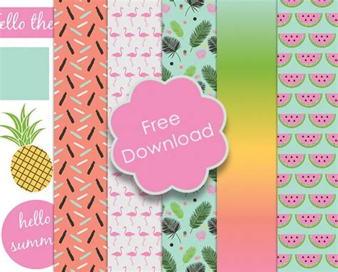 Free Craft Papers - 265 best images about decorative paper patterns printables