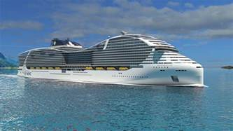 Largest Cruise Ship by Biggest Cruise Ship In The World Announced By Msc Cruises