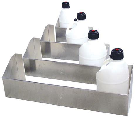 Fuel Rack by Trailer Fuel Jug Racks