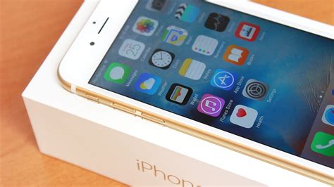 unboxing setup impressions iphone 6s 64gb gold