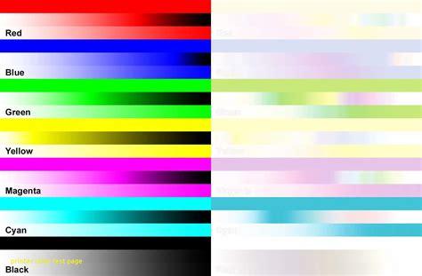 color test printer color test page wkwedding co