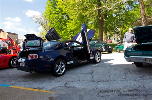 custom s197 mustang blue thunder a custom s197 mustang infinite garage