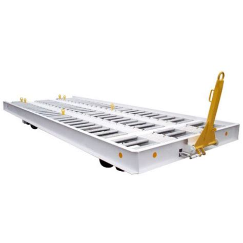 roller bed trailer 20 roller bed pallet trailer ground support equipment from gse solutions