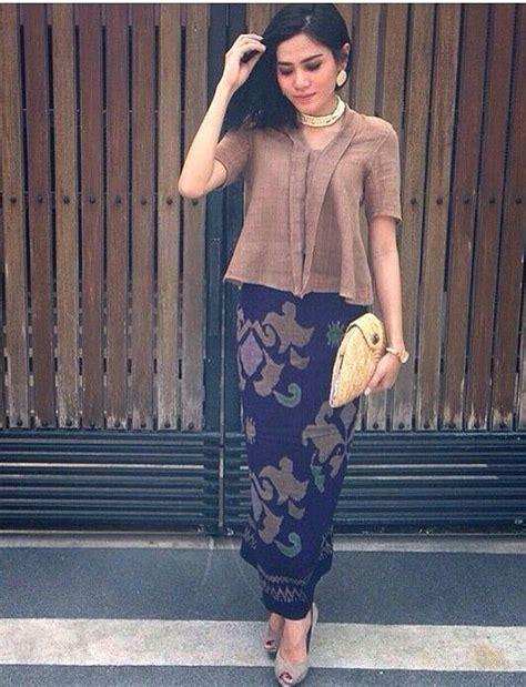 Dress Peplum Prodo Biru 1000 ide tentang modern batik dress di kebaya