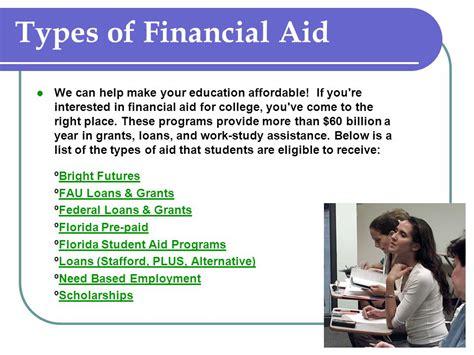 Florida Mba Financial Aid by Florida Atlantic Ppt
