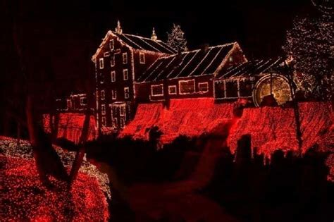 Clifton Mills Lights by Panoramio Photo Of Clifton Mill Festival Of Lights