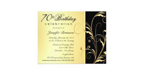 70th birthday invites templates 15 70th birthday invitations design and theme ideas