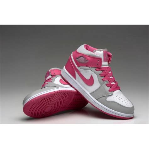 pink nike basketball shoes womens newest nike air 1 basketball shoes white grey