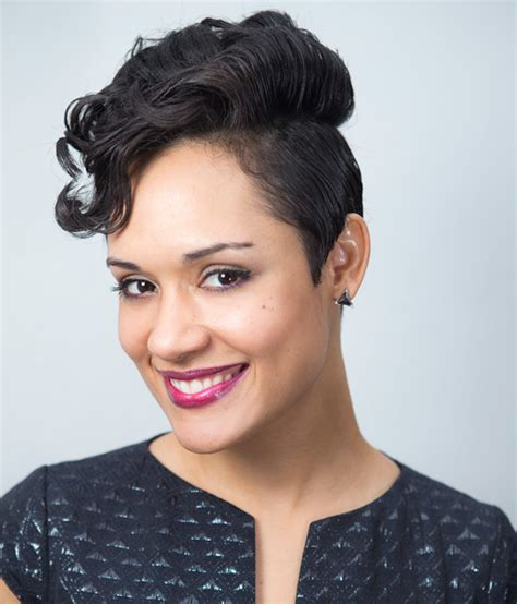 Empire Stars With Short Hair | empire star grace gealey on celebrating life