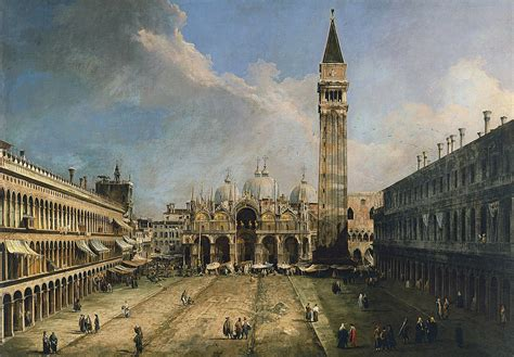 san marco piazza san marco verso la basilica