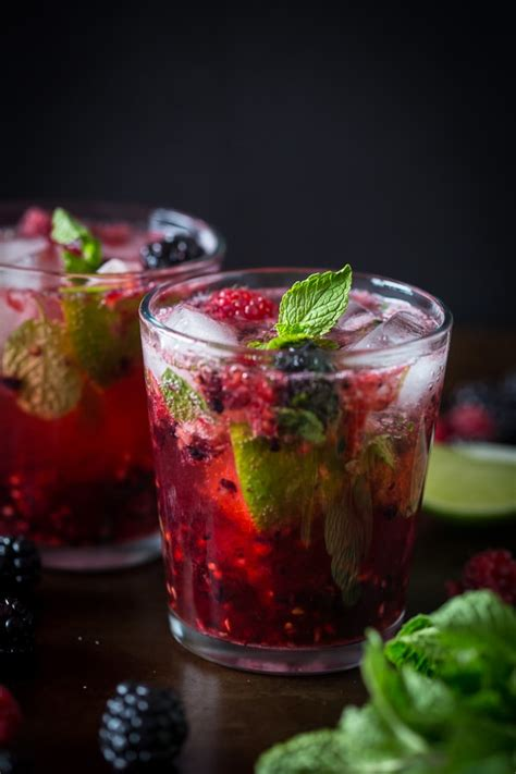 mojito cocktail mix mixed berry mojito nutmeg nanny