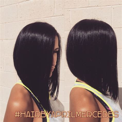 angled bob hairstyles for black women 17 best images about hair inverted bob on pinterest