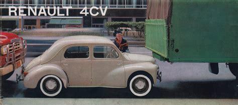 1959 renault 4cv renault 1959 4cv sales brochure