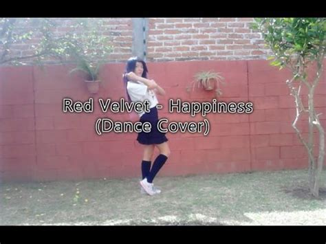tutorial dance happiness red velvet red velvet 레드벨벳 happiness 행복 dance cover by sophie