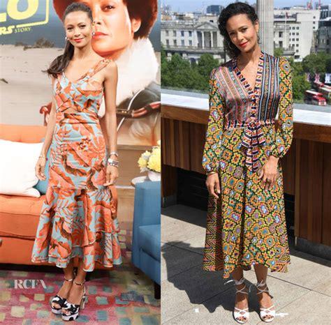 Catwalk To Carpet Thandie Newton Carpet Style Awards by Thandie Newton In Johanna Ortiz Duro Olowu Despierta