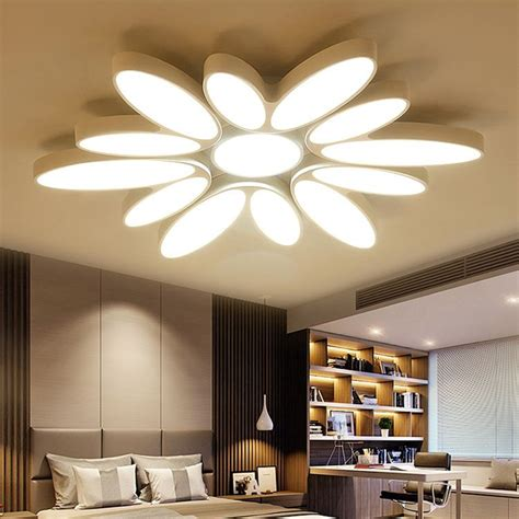 style sun creative design ceiling light pmma stepless adjusted fixtures decoration