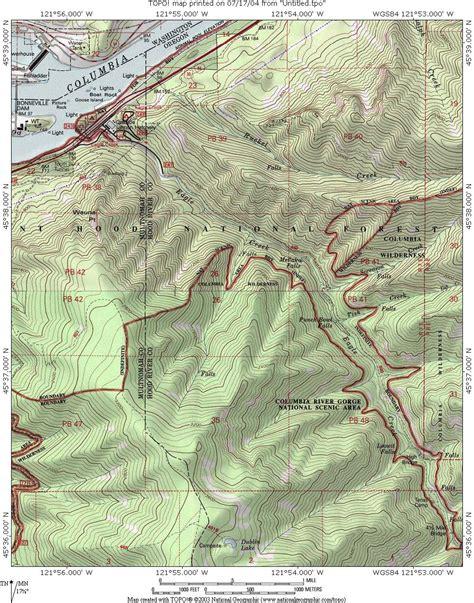 map of oregon eagle creek eagle creek columbia gorge trailsnw