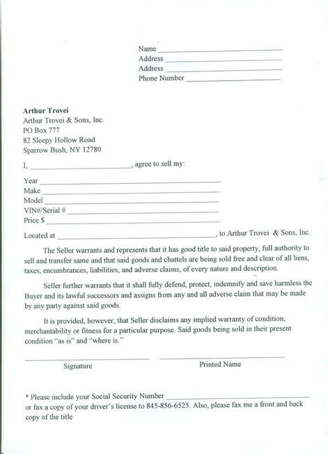 printable bill of sale car nj free printable tractor bill of sale form generic