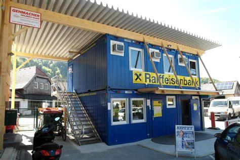 raiffeisen bank at mietcontaineranlage f 252 r raiffeisen bank at gr 246 dig containex