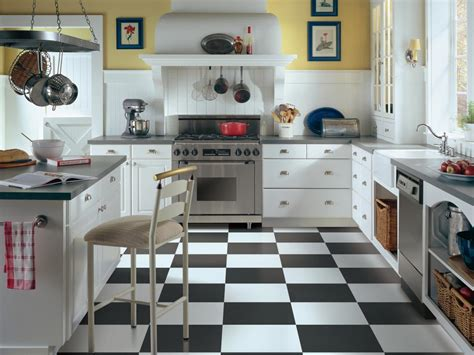 Vinyl Flooring For Kitchen Vinyl Flooring In The Kitchen Hgtv