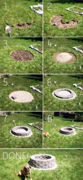 Simple Backyard Fire Pit 30 Diy Fire Pit Ideas And Tutorials For Your Backyard