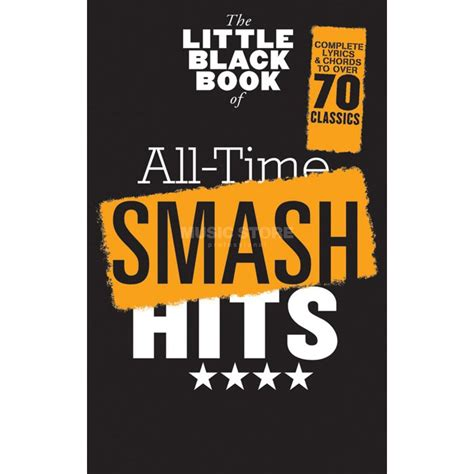 at 1 000 degrees a novel books wise publications the black book of all time smash hits