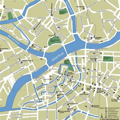 russia tourism map petersburg russia tourist destinations