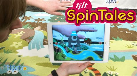 spintales interactive rug from tilt