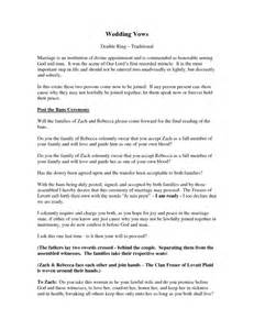 Typical Catholic Wedding Ceremony Outline by 20 Traditional Wedding Vows Exle Ideas You Ll