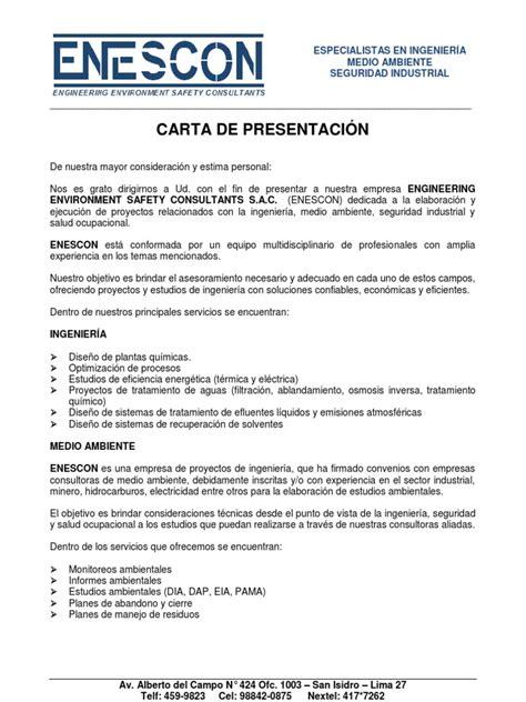 carta de presentacion pdf carta de presentacion 2008