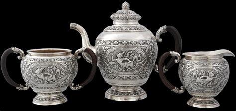 thai silver thai silver teaset