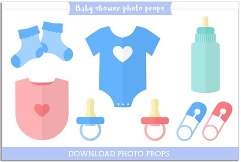 photo booth props template free free baby shower photo booth props template page