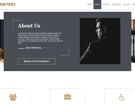 muse responsive templates lawyers template responsive muse templates widgets