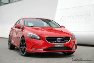 Volvo V40d Heico Sportiv Previews V40 Tuning Program And Bio Diesel Racer