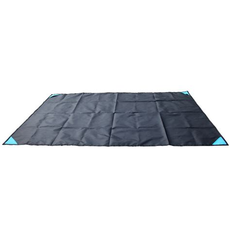Karpet Waterproof karpet cing lipat waterproof 140 x 152cm blue