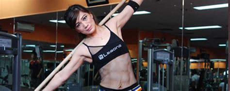 Tongkat Barbel stick side bend reps indonesia fitness healthy lifestyle