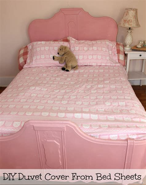 make a comforter make a cozy duvet cover from flannel sheets