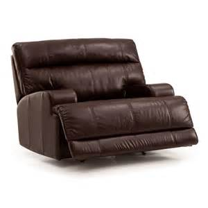 lincoln genuine leather cuddler recliner humble abode