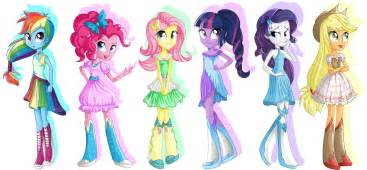 mlp equestria girls favourites by 8dragon on deviantart