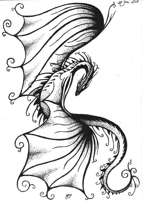 girly dragon tattoo designs 37 tribal dragons for sticker design inspiration uprinting