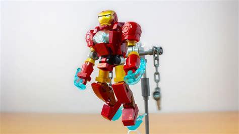 lego iron man suit moc youtube