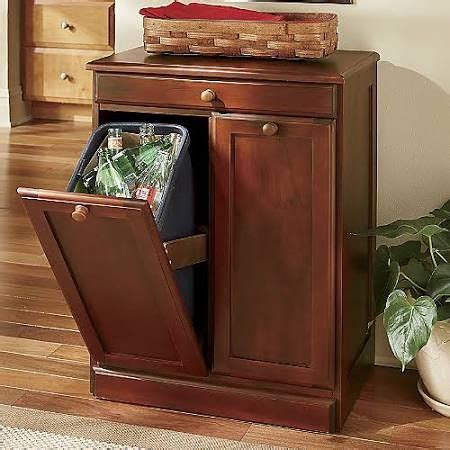 kitchen cabinet recycle bins 1000 ideas about trash can cabinet on pinterest