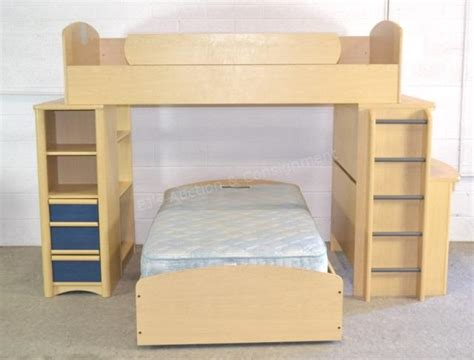 Bunk Bed W Desk Palliser Furniture Bunk Bed System W Desk