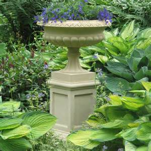 georgian plant tazza on pedestal large garden