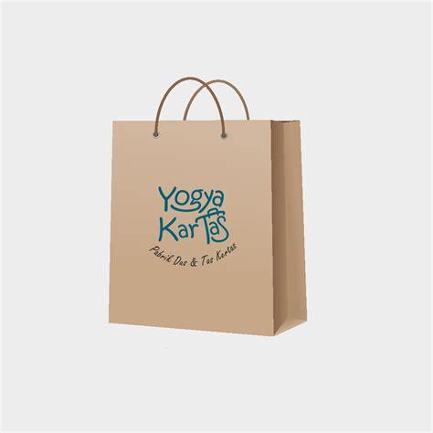 Bag Kertas Batik tas kertas dengan bahan kraft paper atau kertas kraft atau kertas samson atau kertas