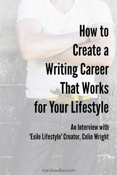 career biography exle how to create a writing career that works for your