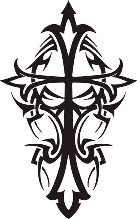 tattoo tribal images tribal cross design