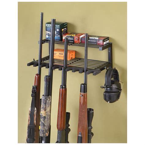 Rifle Racks by Hyskore Gun And Gear Rack 227868 Gun Cabinets Racks