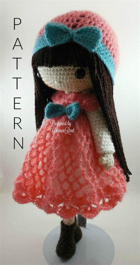 pattern crochet free doll clara luz 17 quot anastasia 14 quot amigurumi doll crochet