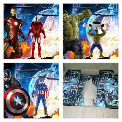 Mainan Flying Doll Captain America Benar Benar Bisa Terbang jual edisi terbatas mainan terbang flying dolls ironman robotnya bisa terbang karakter ironman